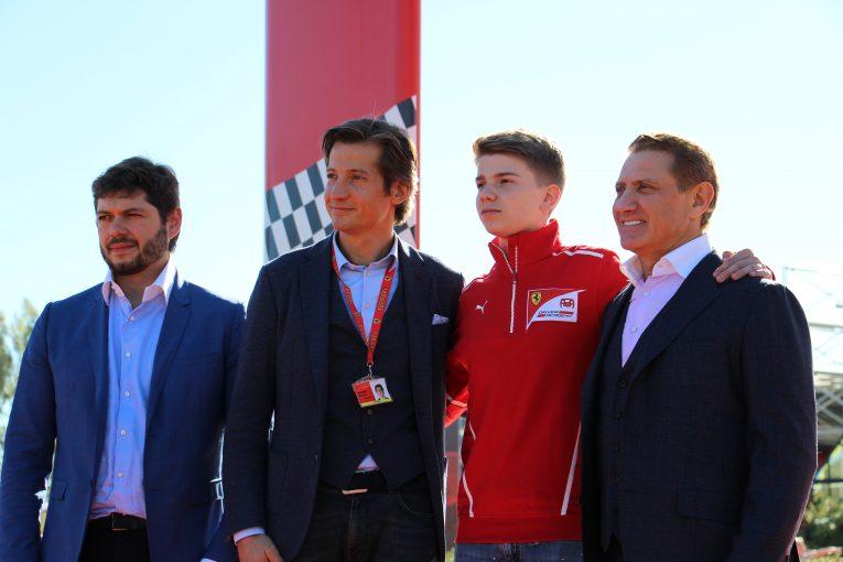 F1 | フェラーリ・ドライバー・アカデミーにFルノー参戦中のシュワルツマンが加入
