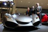 クルマ | 架空マシンの実車がTMSに登場! 『イソリボルタ・ザガート・ビジョンGT』日本初披露