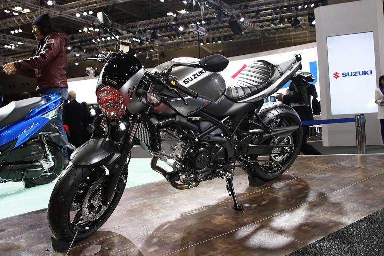 MotoGP   スズキ、SV650Xを世界初公開。日本初公開のGSX-R125や、ワールドプレミアの四輪車種も多数出展