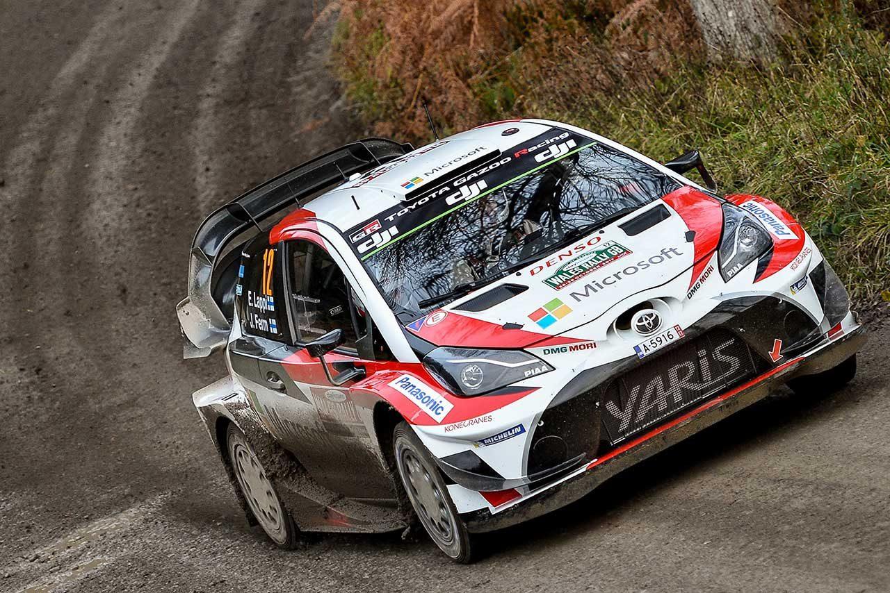 WRCラリーGB:地元出身のエバンスがシェイクダウン最速。トヨタはラトバラが4番手