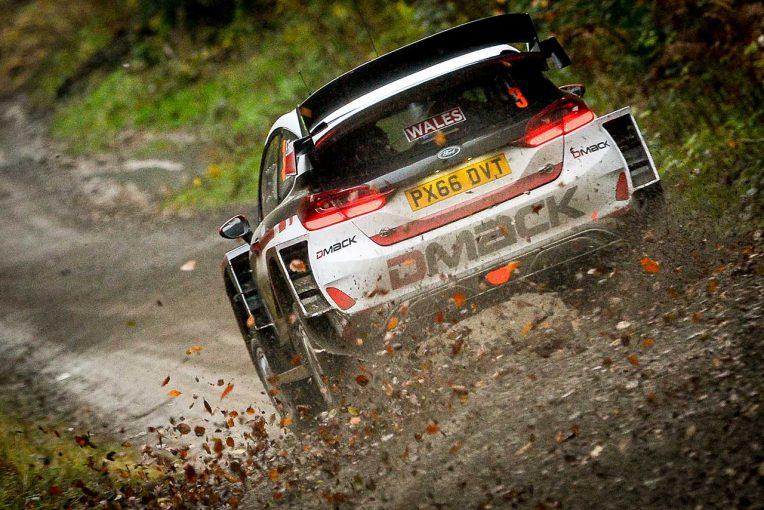 WRCラリーGB:地元出身のエバン...