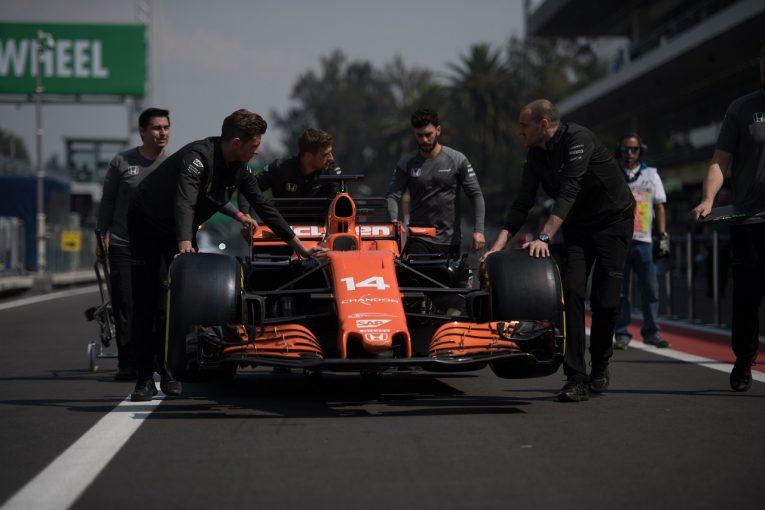 F1 | マクラーレン・ホンダF1、アロンソとバンドーンのパワーユニットを戦略的交換。メキシコは最後方グリッドに