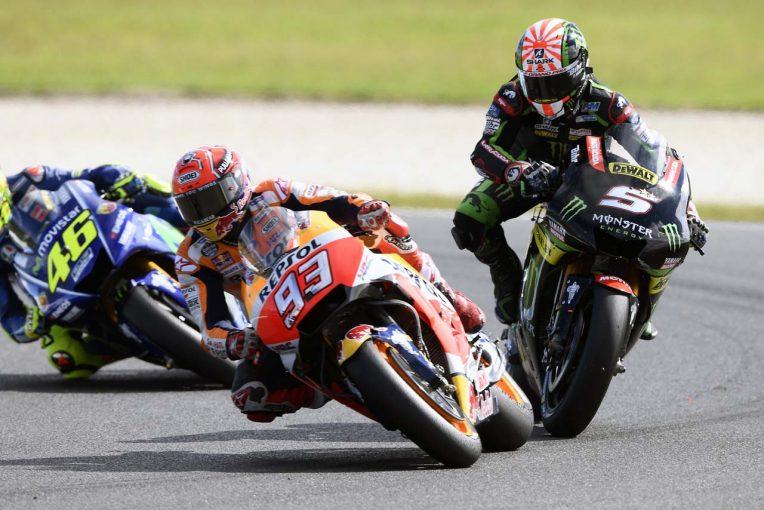 MotoGP   MotoGPコラム:接触多発のオーストラリア。悪夢の位置から勝利したマルケスの強さとは