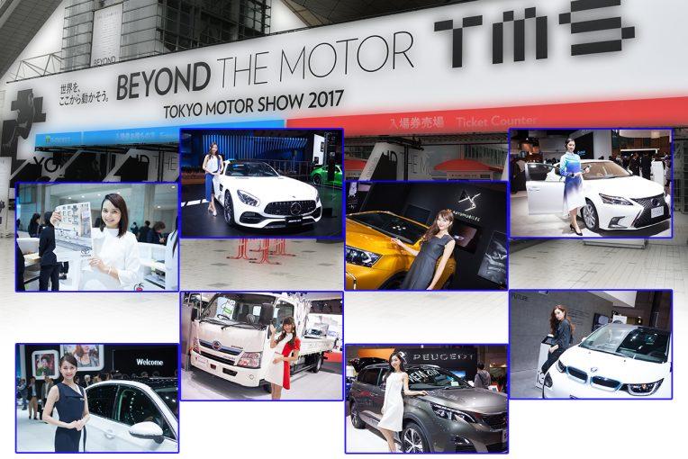 国内レース他 | 各ブースを彩る東京モーターショー2017コンパニオンギャラリー