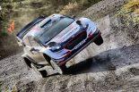 ラリー/WRC | WRCラリーGB:母国戦のエバンスが大量リード。トヨタのラトバラは総合5番手まで後退
