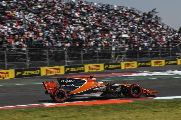 F1   ホンダ「バンドーンの問題は些細なもの。PUにダメージなし」/F1メキシコGP金曜
