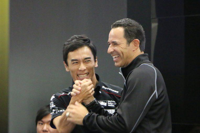 海外レース他   TMSで琢磨とトークショーを行ったカストロネべスが日本語で宣戦布告「来年は私が勝ちます」