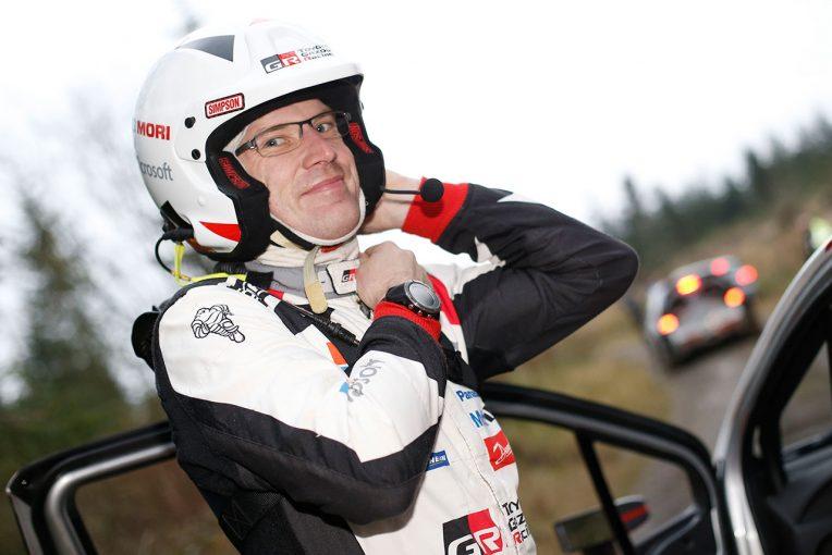 ラリー/WRC   ラトバラ「5番手は悪くないが、明日に向けて改善を期待」/WRC第12戦ラリーGB デイ2コメント