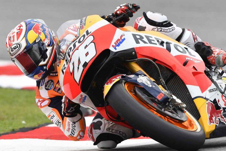 MotoGP   MotoGPマレーシアGP予選:ペドロサが10戦ぶりにポール獲得。マルケスは転倒が響き7番手スタート