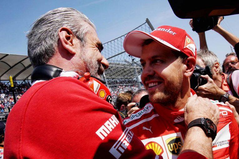 F1   F1メキシコGP予選:全セクター最速のベッテルが逆転ポール、ハミルトンはタイム更新できず