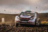 ラリー/WRC | エバンスがリード拡大。トヨタは表彰台まで4.1秒差/【順位結果】WRC第12戦ラリーGB SS16後