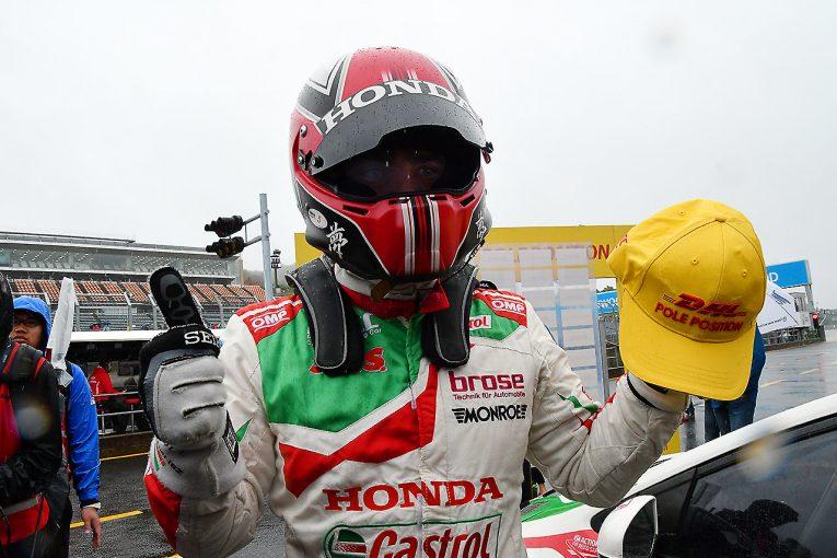 海外レース他   WTCCもてぎ:ミケリスがメインレースのポールポジションを獲得。道上は5番手につける