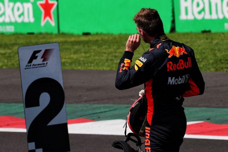 F1 | フェルスタッペン2位「ポールを取れると思っていたから本当に苛立たしい」:レッドブル F1メキシコGP土曜