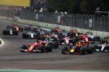 F1 | 【動画】ベッテルとハミルトンがスタートで接触。両者とも最後尾に/F1メキシコGP決勝