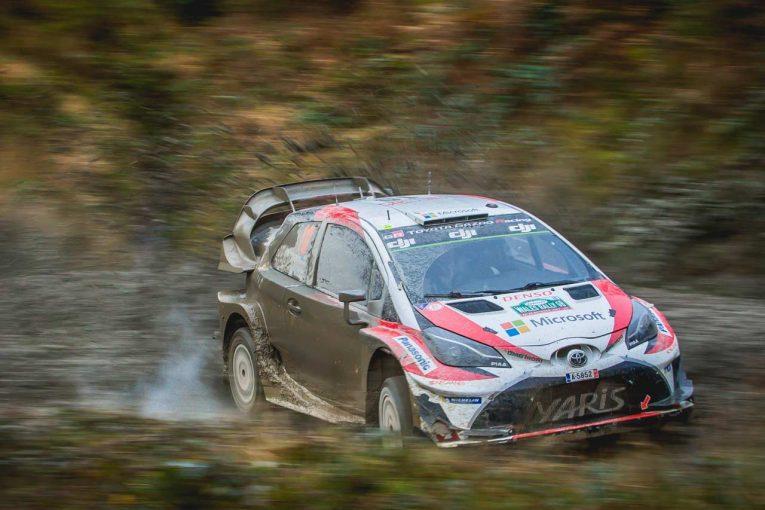 ラリー/WRC | WRC:トヨタ、週末を通じて滑りやすい路面に苦戦も「改善の方法が理解できた」とマキネン