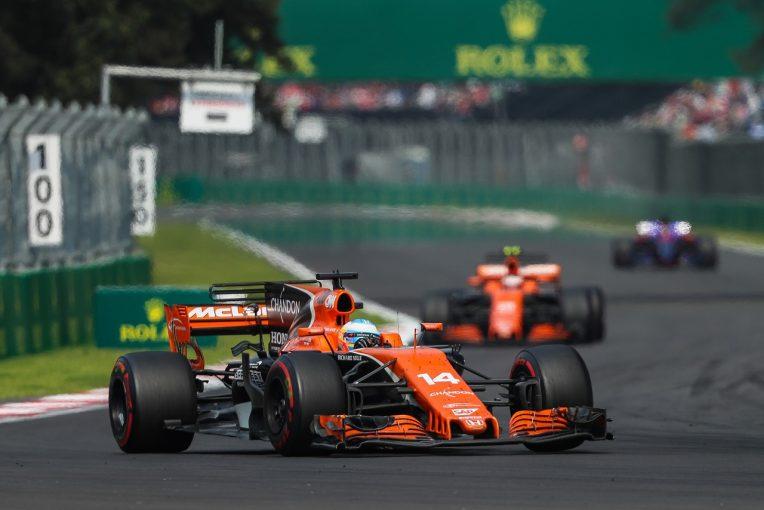 F1   ホンダ「パワーユニットに厳しい高地で入賞&ダブル完走。ポジティブな週末だった」/F1メキシコGP日曜