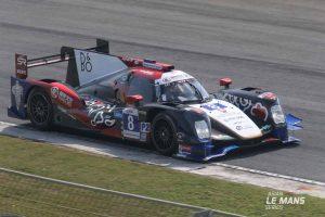 総合優勝した8号車オレカ05・ニッサン/ジャッキー・チェン・DCレーシング