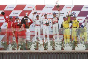 2017/18アジアン・ル・マン・シリーズ第1戦ズーハイ 表彰台