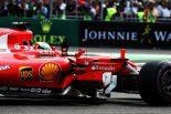 F1 | ベッテル「タイトル争いの権利を失ったと知りながらチェッカーを受けるのは辛かった」フェラーリF1