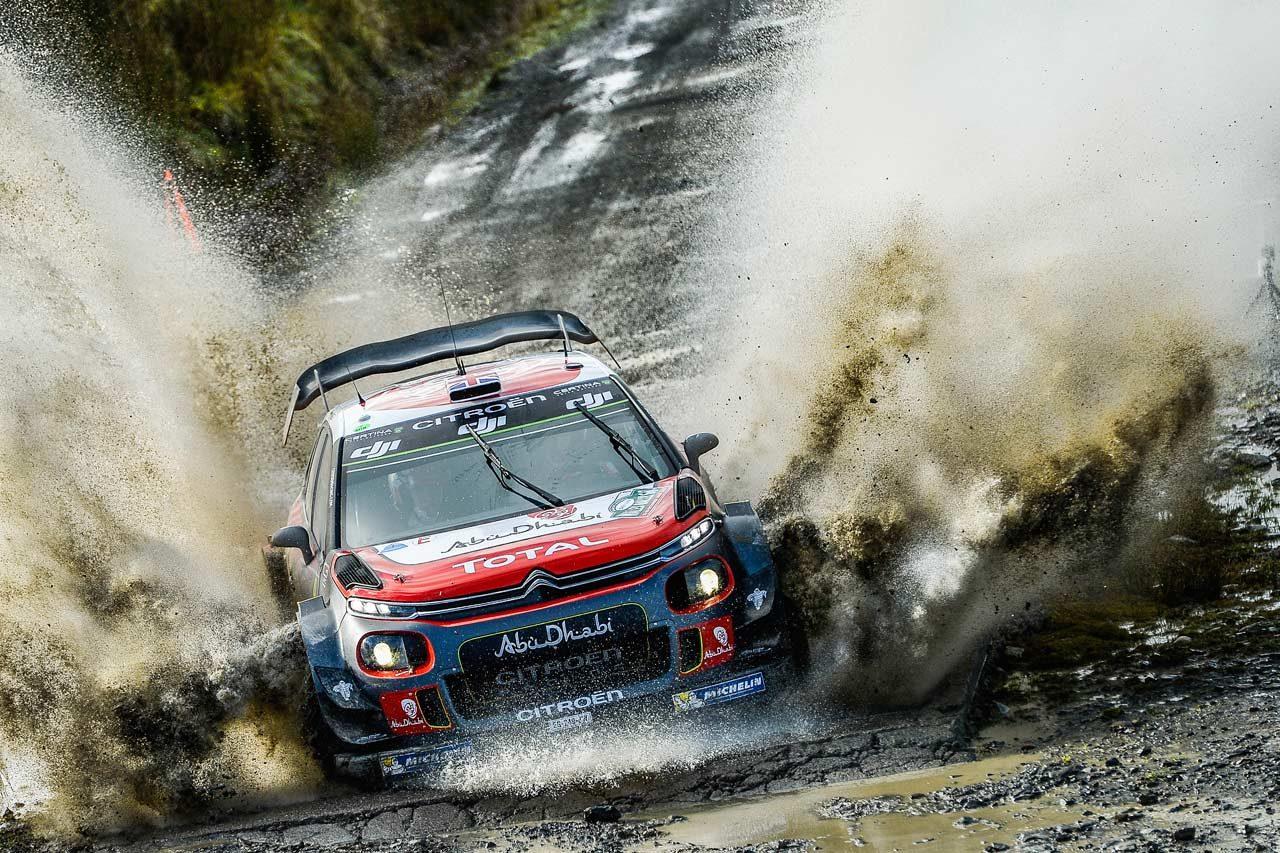 WRC:シトロエン 2017年第12戦イギリス ラリーレポート