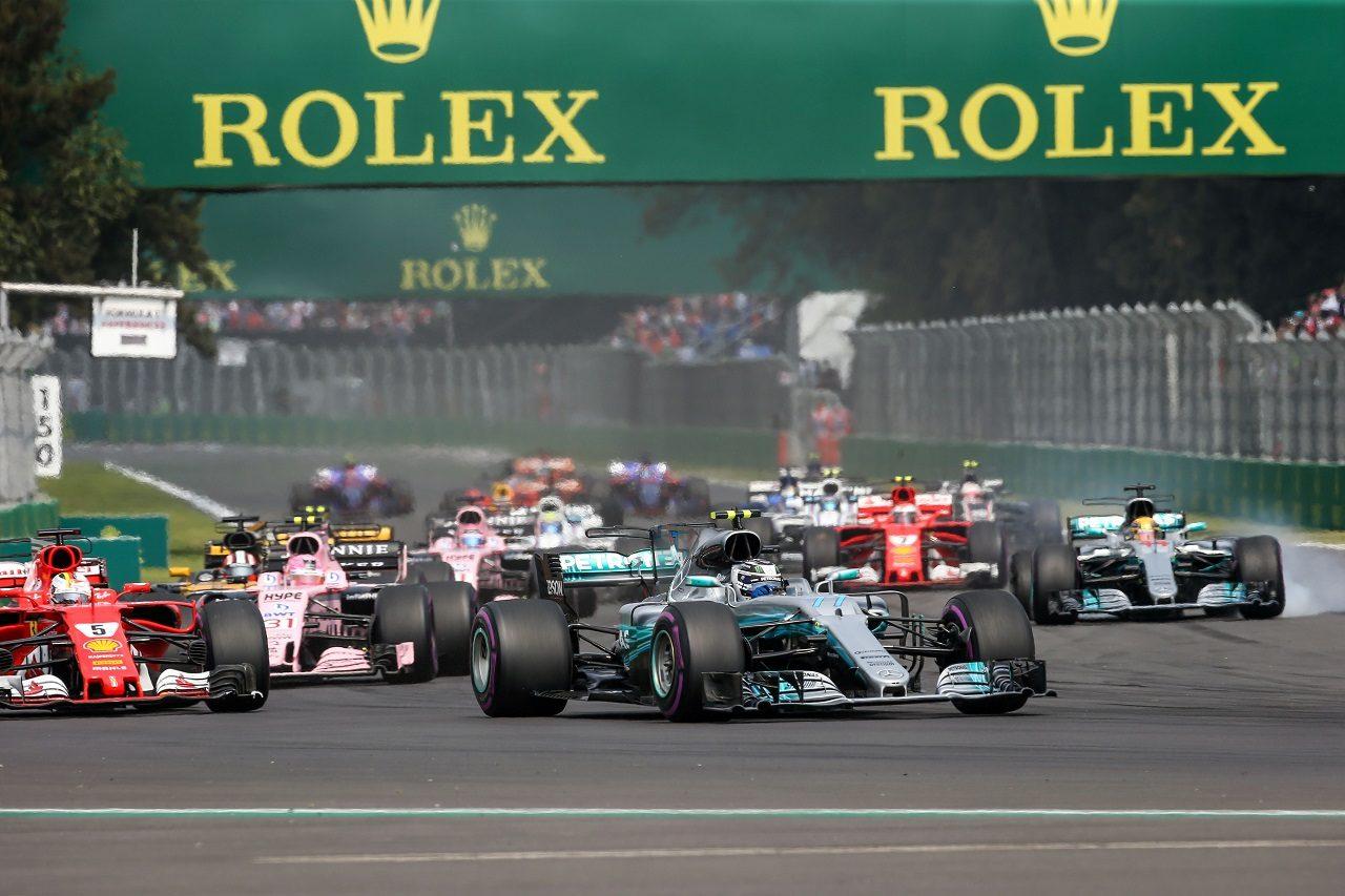 2017年F1メキシコGPスタート