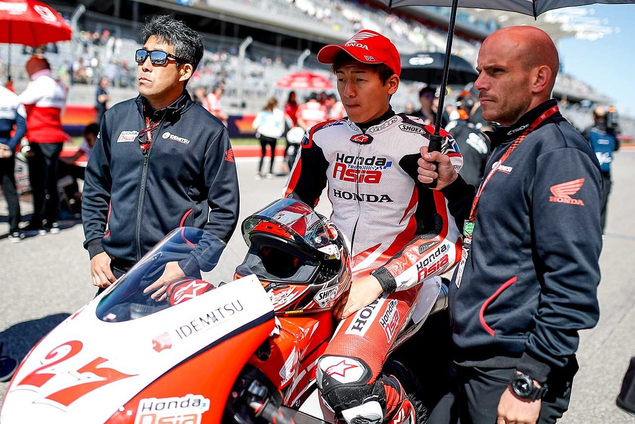 MotoGP:2017年苦戦したチーム・アジア鳥羽海渡。2018年の目標は「チャンピオン獲得」
