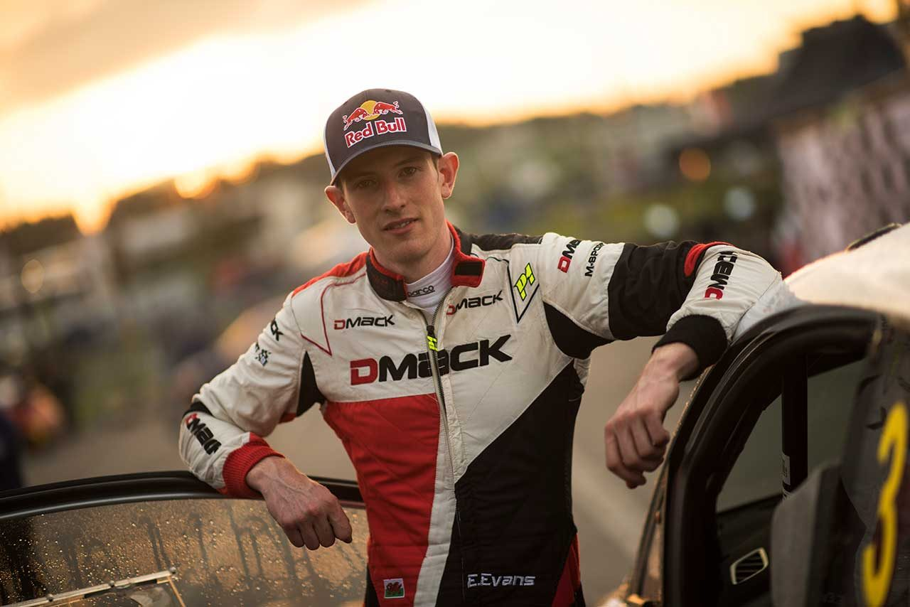 """WRC:ラリーGBで初優勝した若手エバンス、成長のきっかけは""""降格""""と王者オジエの存在"""