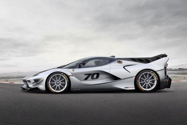 クルマ | 革新的装備満載の新型実験車両、『フェラーリFXX-K Evo』世界初公開