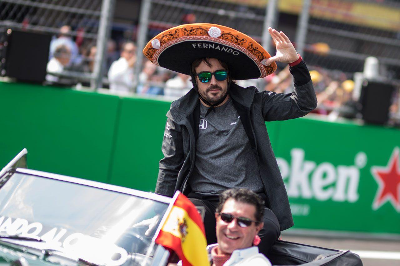 2017年F1メキシコGP フェルナンド・アロンソ(マクラーレン・ホンダ)