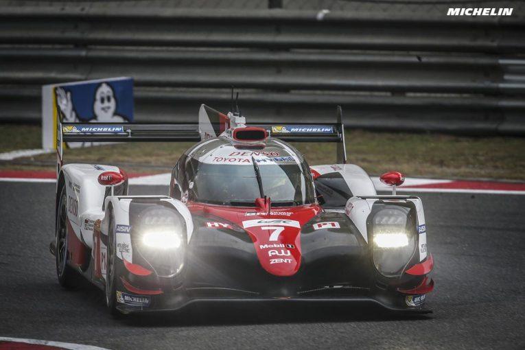 走行初日から好調を維持する7号車トヨタTS050ハイブリッドがポールポジションを獲得