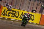 最終戦のレース2を制したジョナサン・レイ(カワサキ)