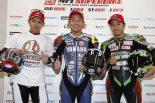 MotoGP | 中須賀「周回遅れが出たら勝負だった」/全日本ロード第9戦決勝会見