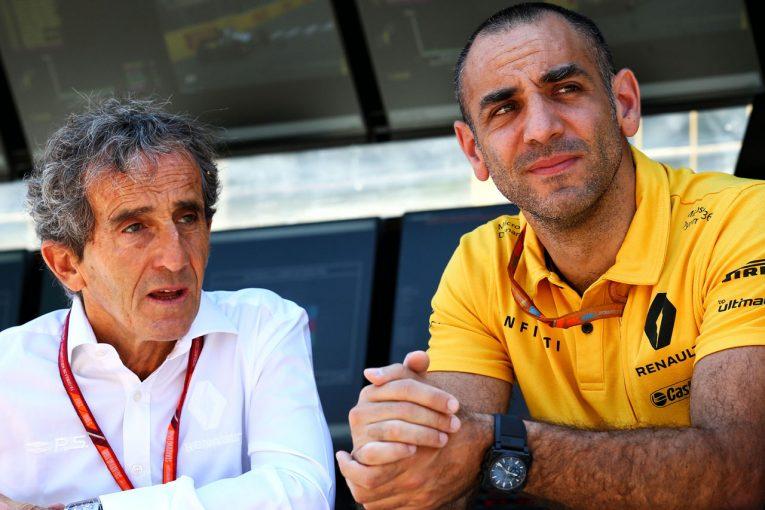 F1   ルノー、新パワーユニットプランの効果に疑問。「F1が抱える問題の解決策にはならない」
