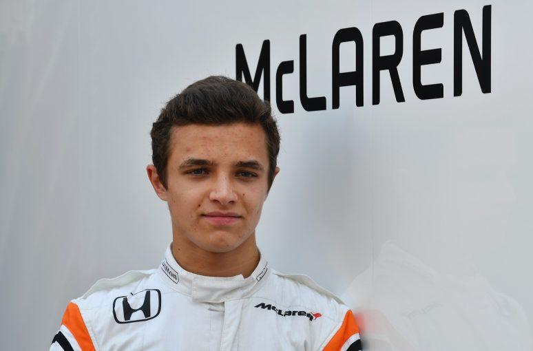 F1 | マクラーレンF1、新テスト&リザーブドライバーにランド・ノリスを起用。バトンとの契約には触れず