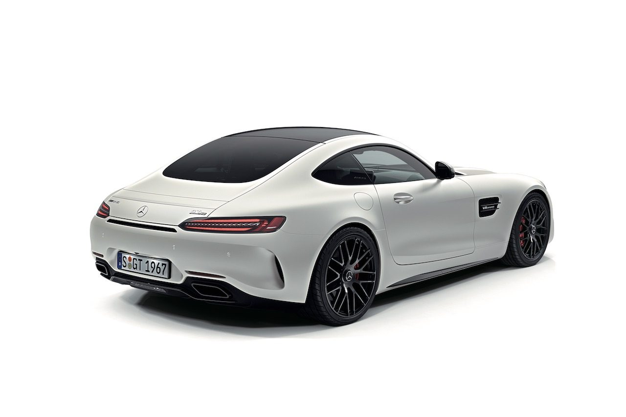 AMG設立50周年記念限定車『メルセデスAMG GT C Edition50』登場