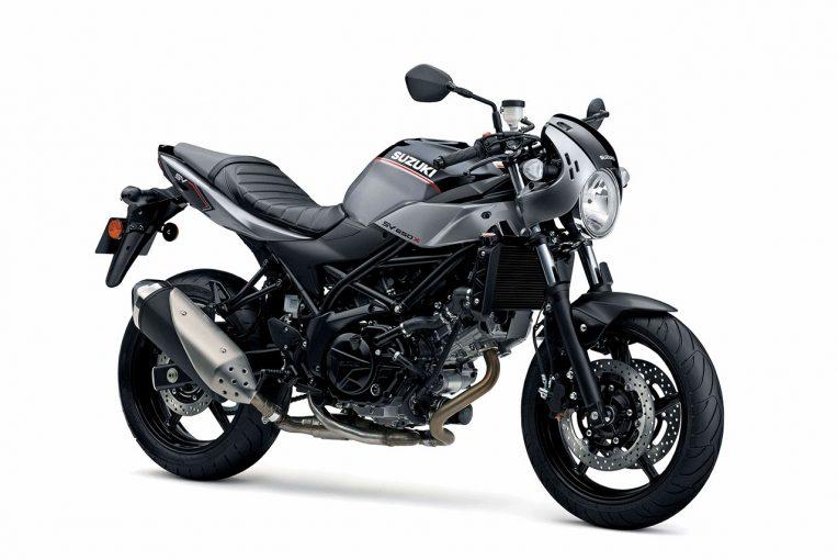 MotoGP | スズキがミラノショーに水冷Vツイン搭載の新型SV650Xを出品