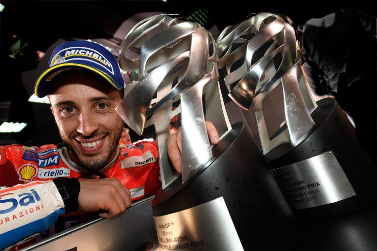 MotoGP   MotoGP:チャンピオン獲得のため「唯一の戦略は勝つこと」とドビジオーゾ