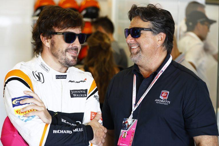 F1   アンドレッティ、F1参戦への関心を認める。「状況を常に注視」