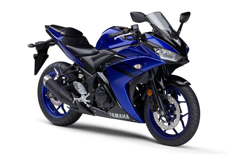 MotoGP   ヤマハ、YZF-R25とYZF-R3の2018年モデルを発売。カラーとグラフィックを変更