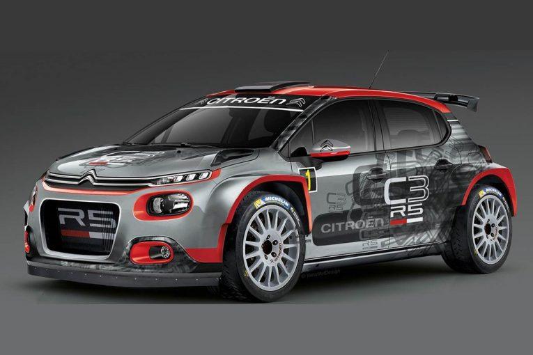 ラリー/WRC   2018年販売予定のシトロエンC3 R5、11月のラリー・デュ・バールでお披露目へ