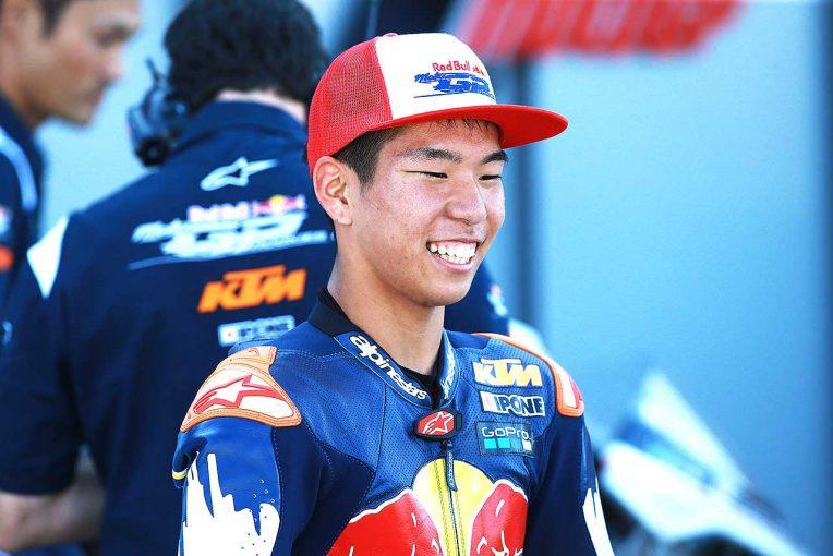 MotoGP   MotoGP:ルーキーズカップチャンピオンの若手日本人ライダーがバレンシアにスポット参戦