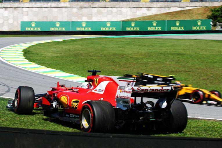 セバスチャン・ベッテル 2017年F1第19戦ブラジルGP