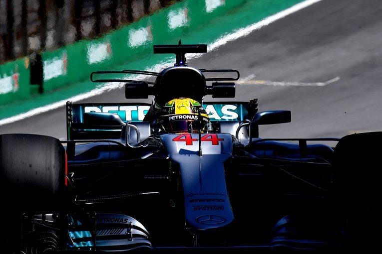 F1   F1ブラジルGP FP2:初日最速はハミルトン。中団チームが入り乱れるなかアロンソ10番手