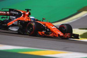 F1 | 2017年F1第19戦ブラジルGP フェルナンド・アロンソ(マクラーレン・ホンダ)