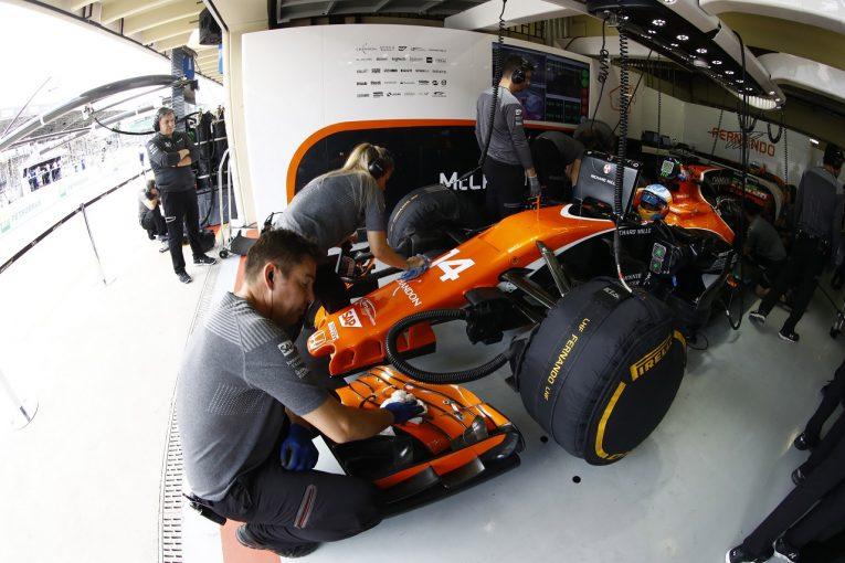 F1 | マクラーレン「マシンのスイートスポットを見つけられずに終わった」/F1ブラジルGP金曜