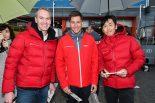 スーパーGT | DTMドライバーはピットウォークも大活躍。スーパーGTチームとともにファンサービス