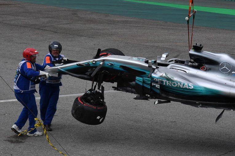 F1 | F1ブラジルGP予選:ハミルトンQ1クラッシュの大波乱、ボッタスがポールポジションを奪取