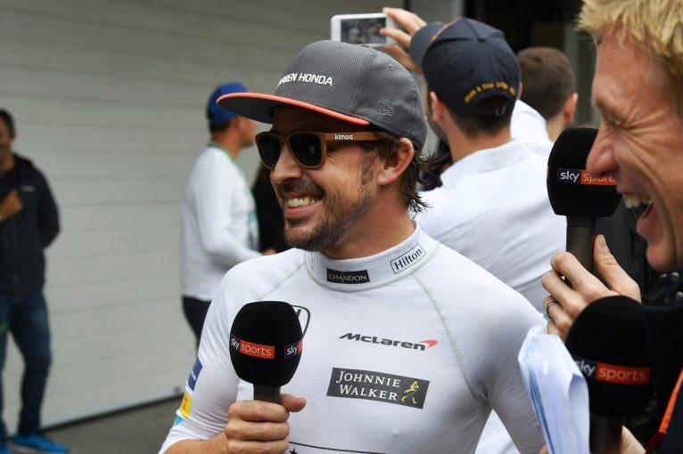 F1 | アロンソ「予選7番手と聞いて『イエス!』と叫んだ。明日はメルセデス相手に戦うよ」マクラーレン・ホンダF1