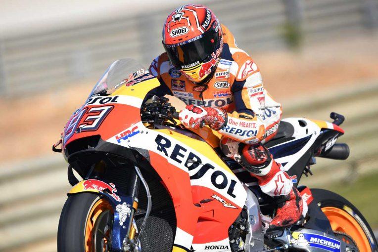 MotoGP | MotoGPバレンシアGP予選:マルケスがポール獲得。逆転王者狙いのドビジオーゾは苦戦の9番手