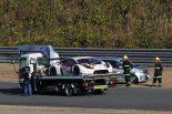 レース中盤にマシンを止めたマネパ ランボルギーニGT3